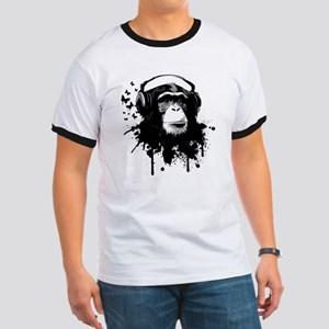 Headphone Monkey T-Shirt