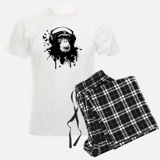Headphone Monkey Pajamas