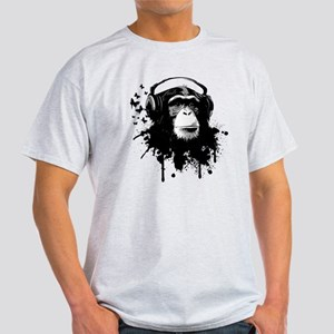 Headphone Monkey T-Shirt