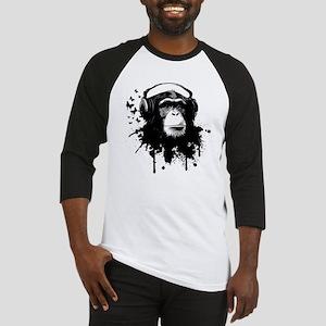 Headphone Monkey Baseball Jersey