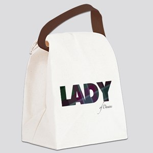 Lady of Dunans Canvas Lunch Bag