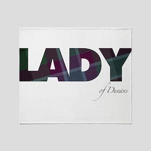 Lady of Dunans Throw Blanket