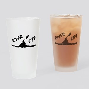 River Life Drinking Glass