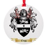Clegg Round Ornament