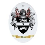 Clegg Ornament (Oval)