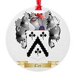 Clee Round Ornament