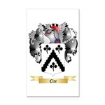 Clee Rectangle Car Magnet