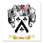 Clee Square Car Magnet 3