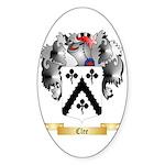 Clee Sticker (Oval 50 pk)