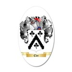 Clee 35x21 Oval Wall Decal