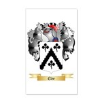 Clee 20x12 Wall Decal
