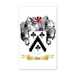 Clee 35x21 Wall Decal