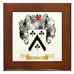 Clee Framed Tile