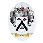 Clee Ornament (Oval)