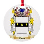 Cleave Round Ornament