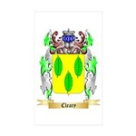Cleary Sticker (Rectangle 50 pk)