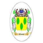 Cleary Sticker (Oval 50 pk)