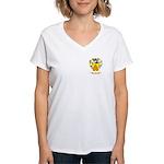 Clear Women's V-Neck T-Shirt
