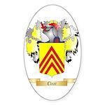 Clear Sticker (Oval 10 pk)