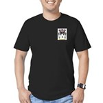 Clayburn Men's Fitted T-Shirt (dark)
