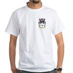 Clayburn White T-Shirt