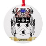 Clayburn Round Ornament