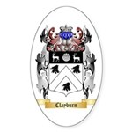 Clayburn Sticker (Oval 10 pk)