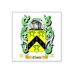 Clavin Square Sticker 3