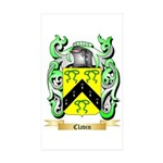 Clavin Sticker (Rectangle 50 pk)