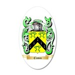 Clavin 35x21 Oval Wall Decal