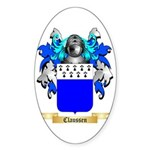 Claussen Sticker (Oval)