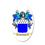 Claussen 35x21 Oval Wall Decal