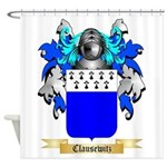 Clausewitz Shower Curtain