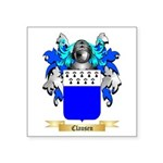 Clausen Square Sticker 3
