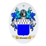 Clausen Ornament (Oval)