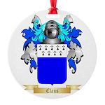 Claus Round Ornament