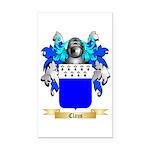 Claus Rectangle Car Magnet