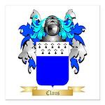 Claus Square Car Magnet 3