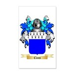 Claus 35x21 Wall Decal