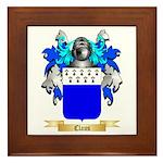 Claus Framed Tile
