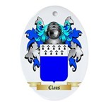 Claus Ornament (Oval)