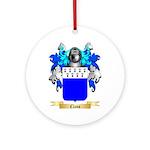 Claus Ornament (Round)