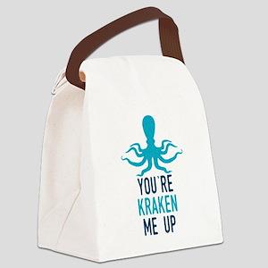 Kraken Me Up Canvas Lunch Bag