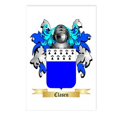 Clasen Postcards (Package of 8)