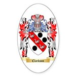 Clarkson Sticker (Oval)