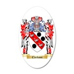 Clarkson 35x21 Oval Wall Decal
