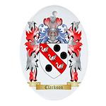 Clarkson Ornament (Oval)