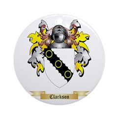 Clarkson 2 Ornament (Round)