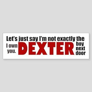 Dexter Quotes Sticker (Bumper)