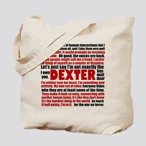 Dexter Quotes Tote Bag